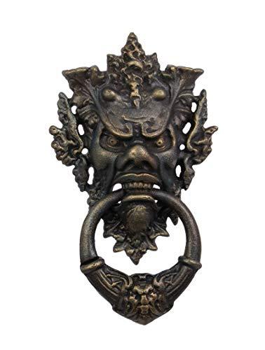 Deko Türklopfer Gußeisen Teufelsgesicht Teufel 37 cm