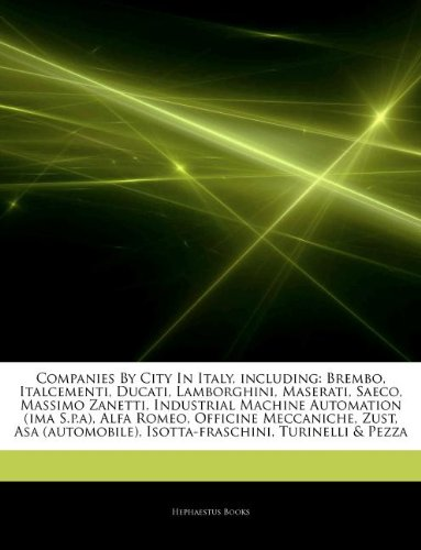 articles-on-companies-by-city-in-italy-including-brembo-italcementi-ducati-lamborghini-maserati-saec