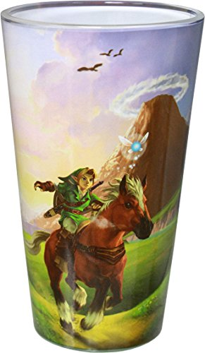 Legend of Zelda The Ocarina of Time Pint Glass