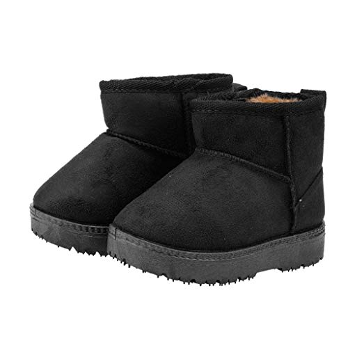 ZZBO Baby Winter Snow Boots Boys Girls Warm Bootie Soft Sole Non-Slip Waterproof Slippers Casual Winter Shoes