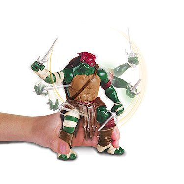 Teenage Mutant Ninja Turtles Film - Combat Warrior Raphael Figur [UK Import] (Film Ninja Raphael Turtle)