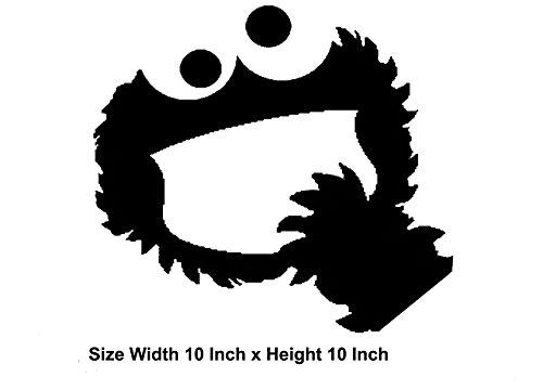 �leicht anzuwenden Laptop Macbook und iPod Vinyl Aufkleber Spaß und Cool für DIY und Dekorationen der perfekte Geschenk für Kinder (Cookie Monster Dekorationen)