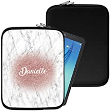 """Personalised Marble Neoprene Tablet Sleeve Bag Case -(96)- Acer Aspire Switch 10 E (SW3-013) (10.1"""")"""
