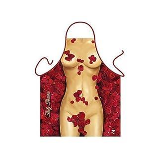 Tobeni 1772 Barbecue Apron Rose Girl Design