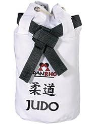 Danrho Dojoline 226018010 - Bolsa infantil (40 x 40 x 45 cm), diseño de de judo, color blanco