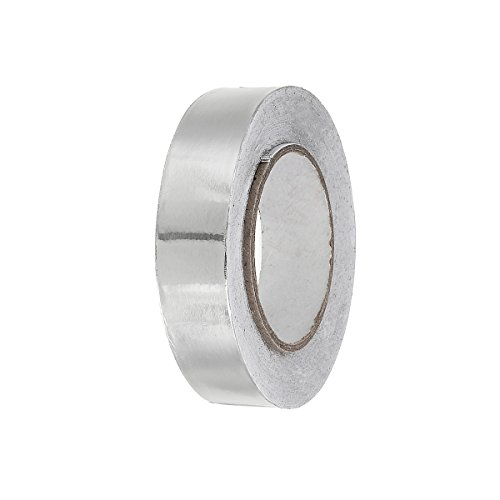 Auto Folie Klebeband Aluminium Folie Isolierband 50mm * 20m Hohe Temperatur Wärme reflektierende Klebeband