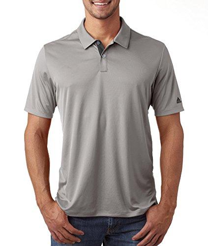 Men's Gradient 3-Stripes polo MID GREY 2XL (Polo Stripe Grau)