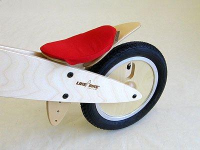 """KOKUA Sattel-Ersatzbezug in rot, blau, maigrün, jeans, tannengrün, orange, pink oder \""""Harlekin\"""" = blaue Sitzfläche - rote Seitenlaschen oder rote Sitzfläche - blaue Seitenlaschen - Farbe frei wählbar (rot)"""