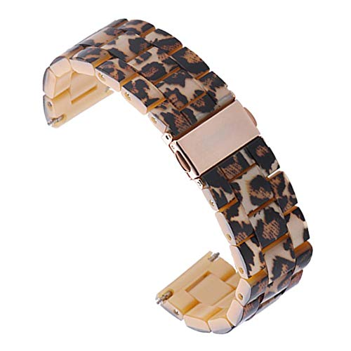 Globeagle Harz Armband Armband Handschlaufe für iWatch Serie 4 40mm (Leopard) - Leopard 4
