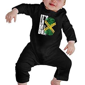 It's in My DNA Brazilian Baby Boy Girl Long Sleeve Bodysuit Baby Rompers 16