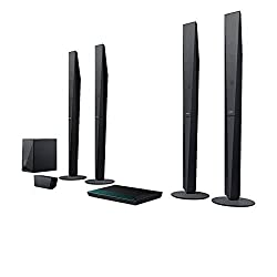 Sony BDV-E6100 5.1 Blu-ray Heimkinosystem (1000 Watt, 3D, WLAN, Bluetooth, Smart TV, NFC) schwarz
