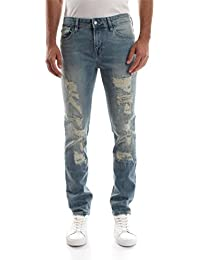 GUESS M73AN2 D2NC0 SKINNY JEANS Homme