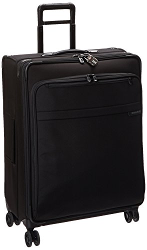 Briggs & Riley ,  Uni Koffer, Oliv (Grün) - U128CXSP-7 schwarz