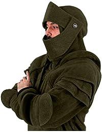 Sudaderas Hombres con Capucha Enmascarado POLP Abrigo Hombre Invierno Chaqueta de Moto Hombres de Manga Larga otoño chándales Casco Suéter de Tops Blusa Camiseta S-XXXL