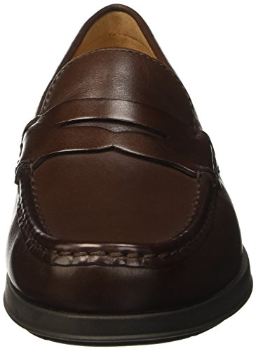 Geox U DALLAGHAS 2 Fit A, Mocassini Uomo Braun (DK BROWNC6006)
