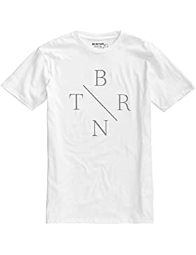 Burton - Maglietta da uomo Pro Mode , Uomo, T-Shirt PRO MODE, Bianco (Stout white), S