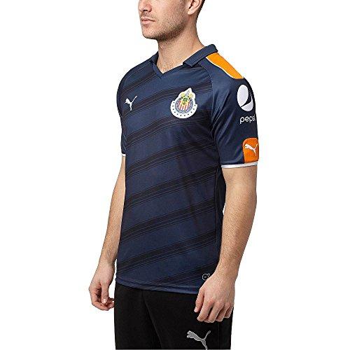 c45ffc3490d60 Puma da uomo Chivas 2017 alternative Blue jersey