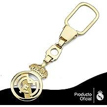 Llavero escudo Real Madrid oro de ley 18k calado [AA0635] - Modelo: 30-179