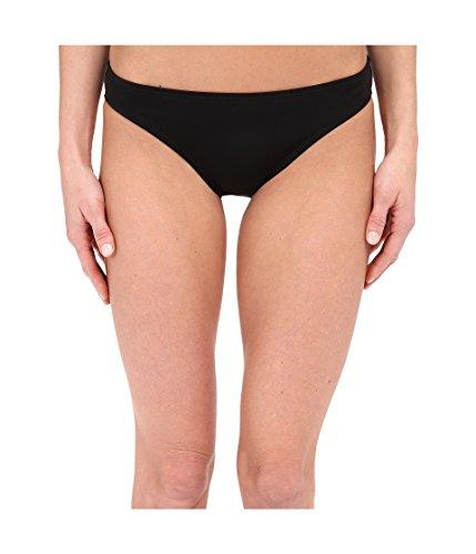 DKNY Damen Street Cast Solids Classic Bottom - Schwarz - X-Small - Solid Classic Bikini Bottoms