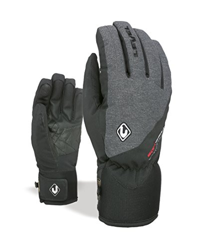 Level Herren Force Handschuhe, Anthracite, 8.5