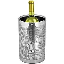 Kosma Designer enfriador de vino de acero inoxidable de doble pared | Vino | Enfriadores Enfriador