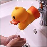 Wasserhahn Extender, Animal Extender für Wasserhähne, Sink Handle Extender für Kleinkinder, Kinder, Baby(Ente)