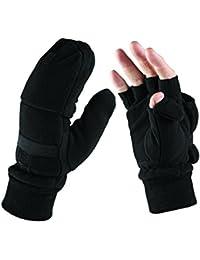 Dickies Mens Half Finger Workwear Gloves GL8005 Black