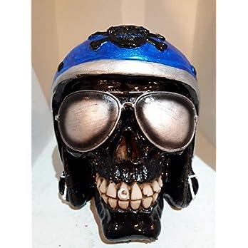 Handgefertigter Totenkopf Easy Rider