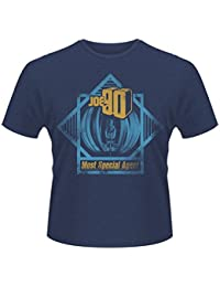 Plastic Head Men's Joe 90 Most Special Agent Banded Collar Short Sleeve T-Shirt