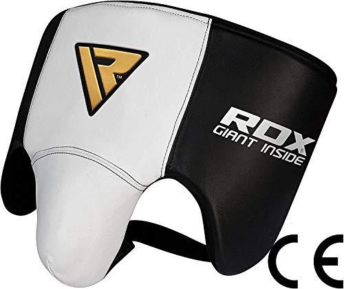 RDX Vacuno Cuero Boxeo Ingle Suspensorios Coquilla Protector Copa...