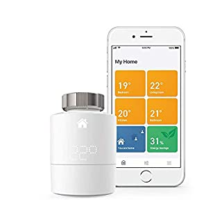 tado° Smart Radiator Thermostat Starter Kit V3+ (horizontal mounting) - Intelligent heating control, works with Amazon Alexa, Apple HomeKit, Google Assistant, IFTTT (B07FYSF4F1) | Amazon price tracker / tracking, Amazon price history charts, Amazon price watches, Amazon price drop alerts