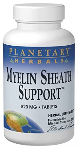 Planetary Herbals Myelin Sheath Support, 180 Tabs