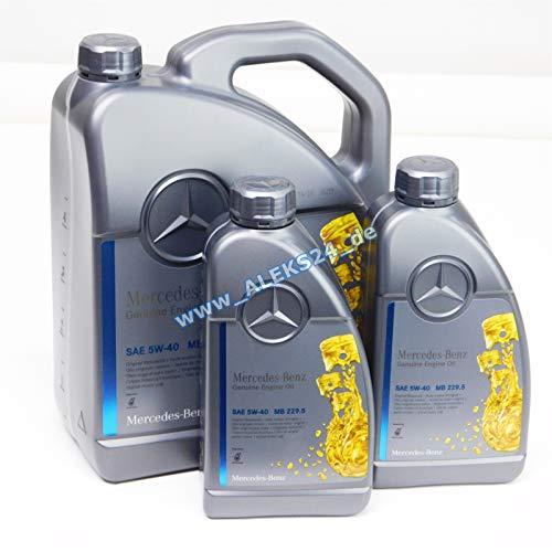 Mercedes Original-Motoröl Benz 229.5, 5W40 7 Liter