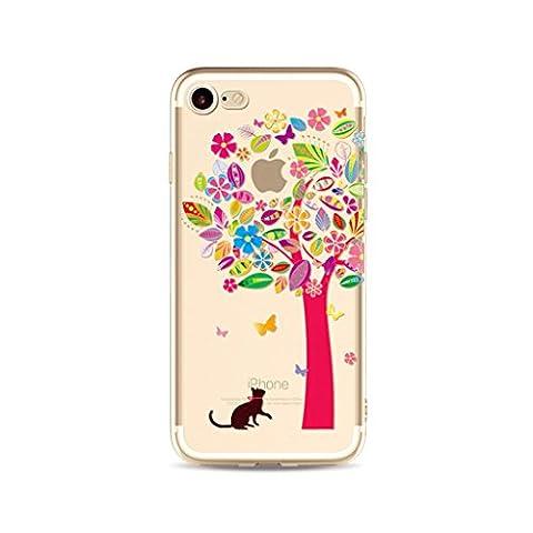 Embrasse Anneaux Pompon - MUTOUREN Coque pour Apple iPhone 7 Plus