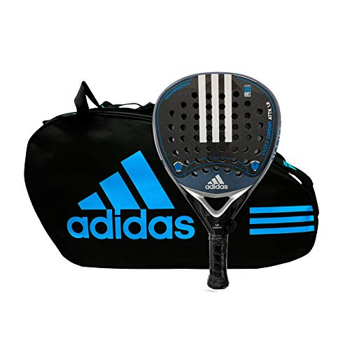 adidas Pack pádel Essex Carbon Attack 1.8 Silver Control Blue