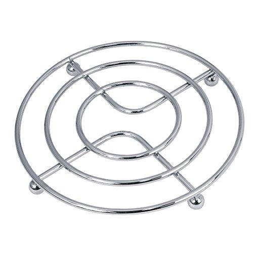 Equinox 503091–Untersetzer rund, grau
