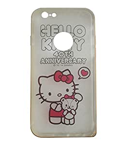 Night Glow Cover with Bumper for iPhone 6 - Hello Kitty