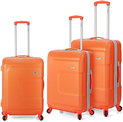 Benzi - Juego de maletas BZ5157 (Naranja)