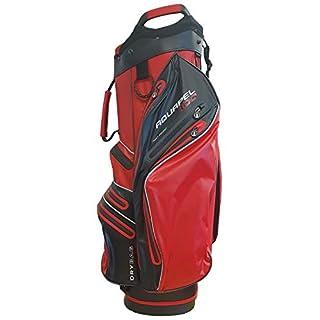 Masters Golf - iCart Aquapel 100 Waterproof 14 Way Trolley Bag Red/Black