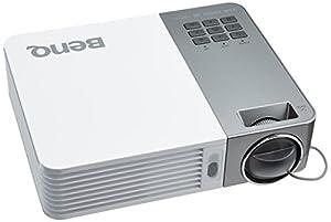 BenQ GP20 LED-Projektor (Kontrast 10000:1, WXGA 1280x800 pixel, 700 ANSI Lumen, HDMI, MHL, SD Card Reader, Office Viewer, 2GB interner Speicher) weiß