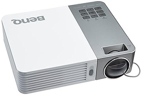 BenQ GP20 Vidéoprojecteur DLP 1280 x 800 HDMI Blanc/Gris