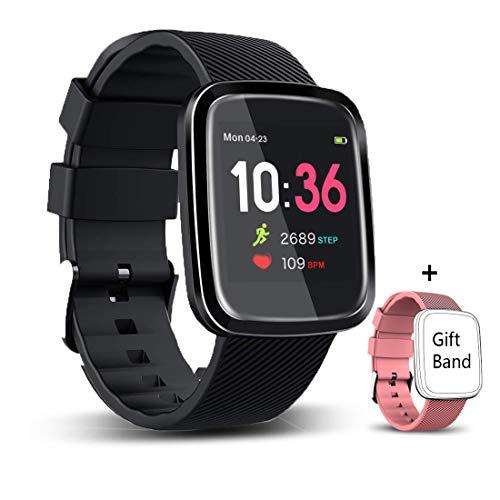 EUMI Smartwatch Reloj Inteligente Deportivo Pulsera Actividad Inteligente IP67 Duración Batería 15-18...