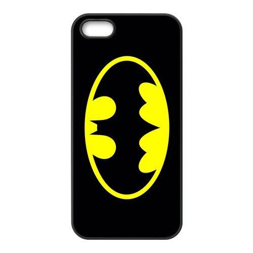 Batman en silicone TPU pour Apple iPhone 5S, iPhone 5S Coque de protection rigide Case Cover, iPhone 5, beau design Coque de protection pour Apple iPhone 5/5S