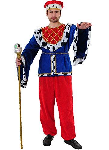 Kostüm König der Mittelalter