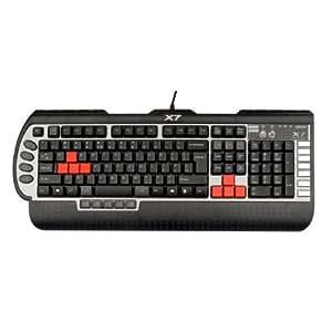 A4Tech X7-G800V-DE - clavier filaire QWERTY - Noir USB