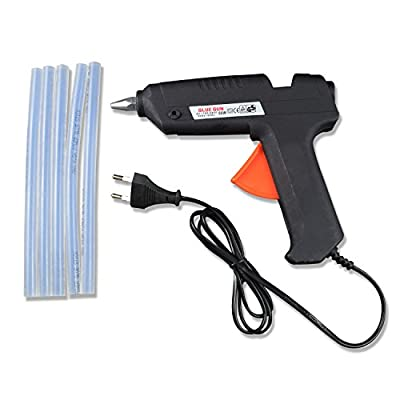 40 Watt Brand New Hot Melt Glue Gun with 5 Pieces Big Glue Sticks Free