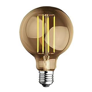 Leuchtmittel Globo Parent Edison Glühbirne 4W warmes Licht 2700° K (warmweiß) 460Lumen–Abmessungen: D 95x 125mm Abstrahlwinkel Lichtleistung 360°