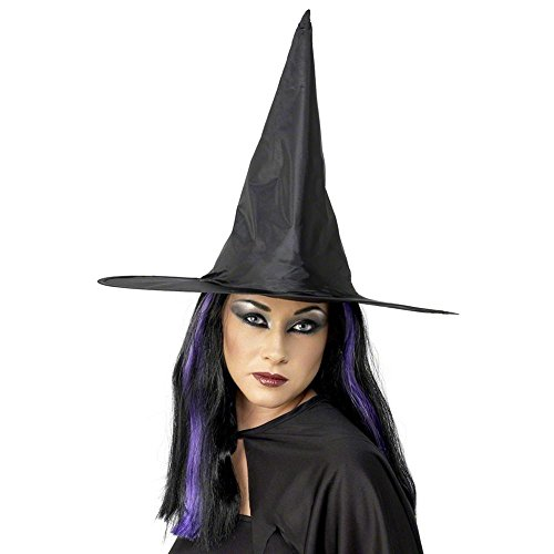 Peeks Classic Black Fabric Adults Halloween Fancy Dress Costume Witches ()