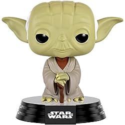 Funko - Pop! Bobble Colección Star Wars - Figura Dagobah Yoda (10105)