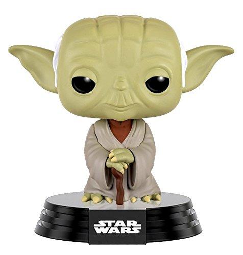 Star Wars Dagobah Yoda Bobblehead Funko Pop! Vinyl Figura